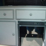 2005 cabinet and refrierator 150x150 Camper Vans