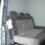 bulkhead and sofa sleeper seat 150x150 Sprinter Vans