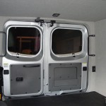 nissan van rear door view Luann paneling cover foam Polyolefin material 150x150 Office Vehicles