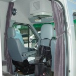 privicy drapes open 150x150 Sprinter Vans