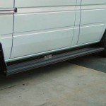 running boards black aluminum 150x150 Sprinter Vans