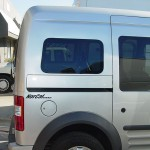 Ford Transit Connect Added Rear Windows Over Wheel Wells Passenger Side