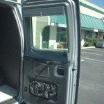 Rear Door With Pocket And Shades