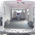 Nissan Van Interior View Luann Paneling Cover Foam Polyolefin Durable Material