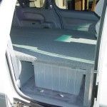 Toyota Sennia With Platform Bed