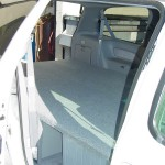 Toyota Sennia with Storage and 6ft Bed