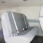 Nissan Van Added Bench Seat Behind Driver and Passenger Seating