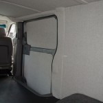 Nissan Van Interior With Luann Paneling Cover Foam Polyolefin Durable Material