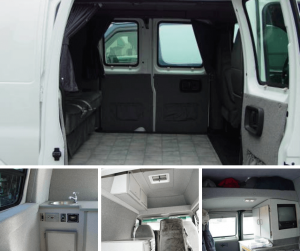 Different Accessories of Customized Camper Van